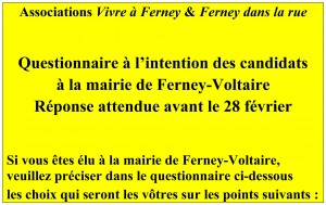 Associations Vivre à Ferney sj